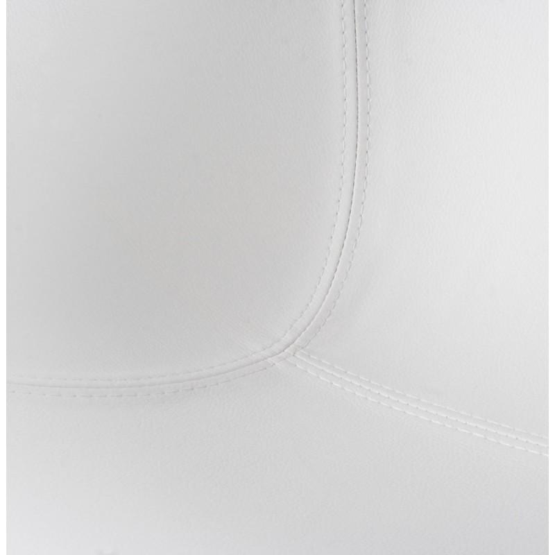 Fauteuil design RHONE rotatif (blanc) - image 18290