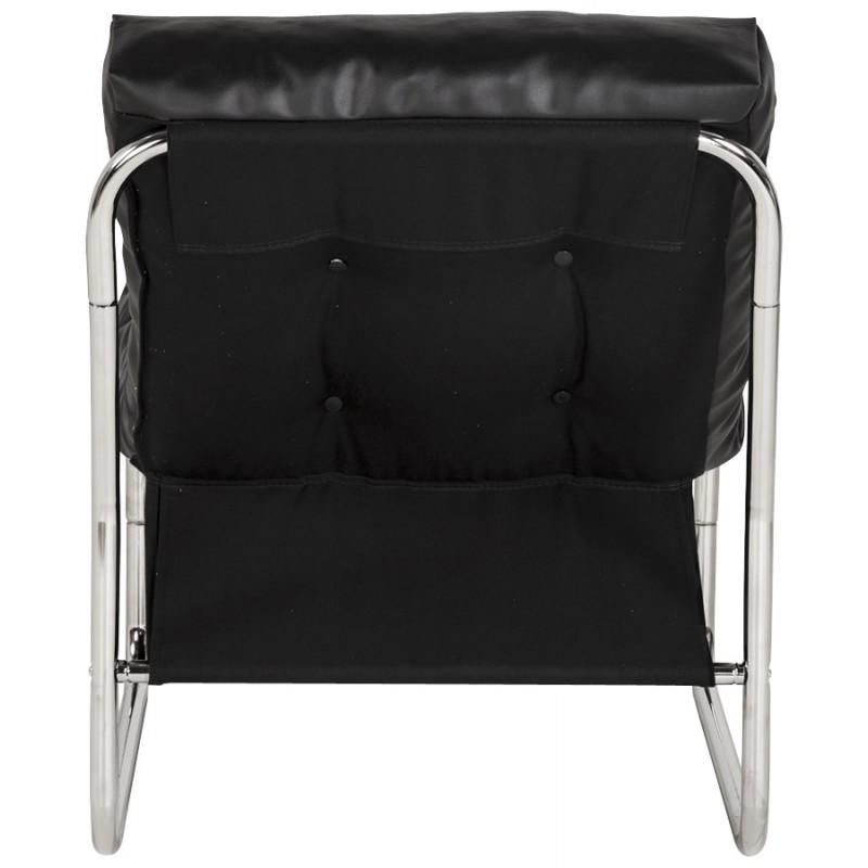 Fauteuil lounge SEINE en polyuréthane (noir) - image 18296