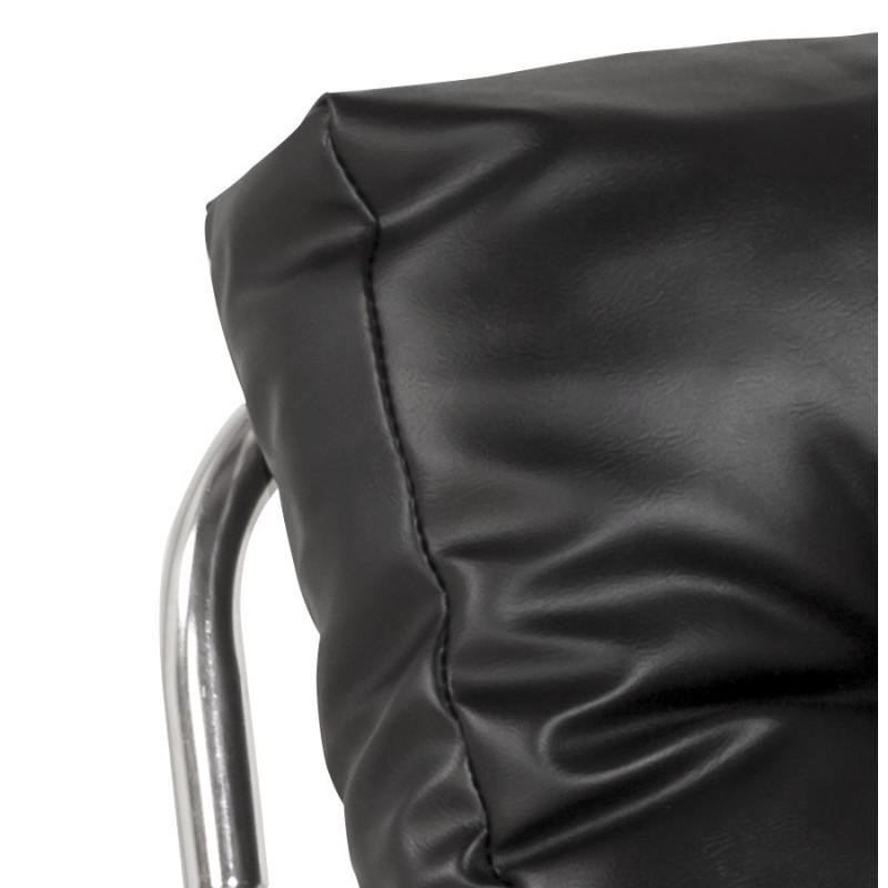 Fauteuil lounge SEINE en polyuréthane (noir) - image 18298