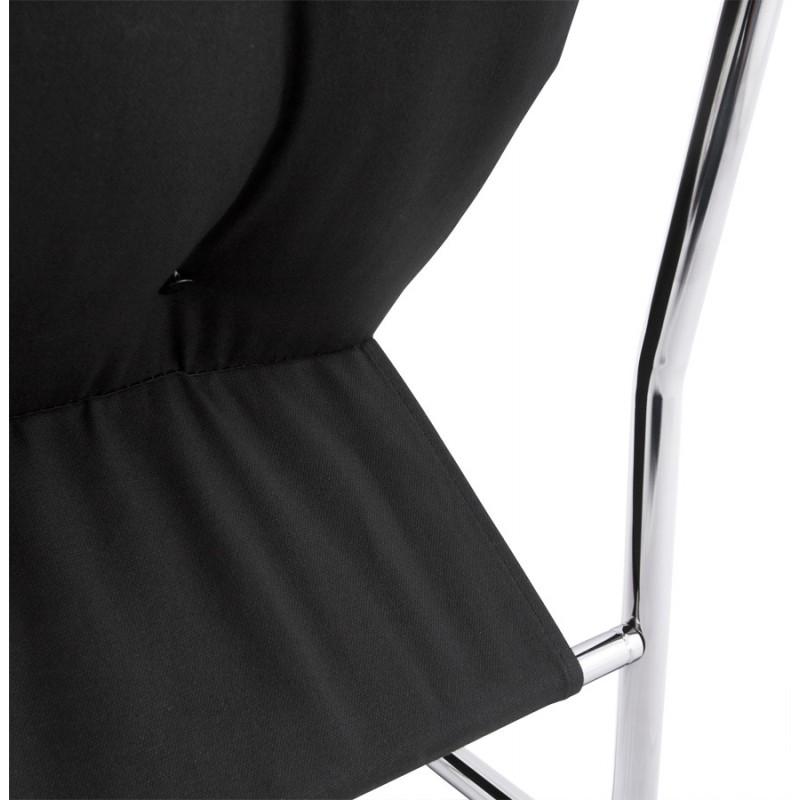 Fauteuil lounge SEINE en polyuréthane (noir) - image 18299