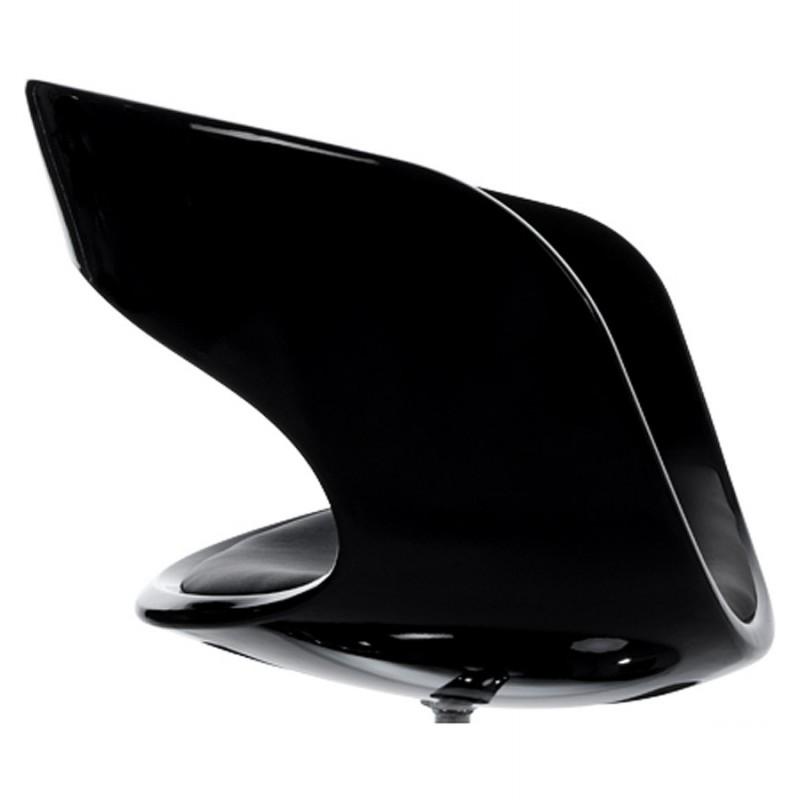 Fauteuil design RHIN en ABS (polymère à haute résistance) (noir) - image 18316