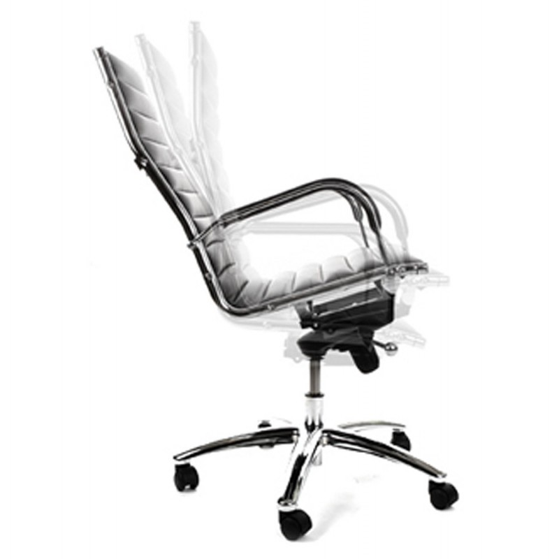 Fauteuil de bureau rotatif colombe en polyur thane noir - Acheter fauteuil de bureau ...