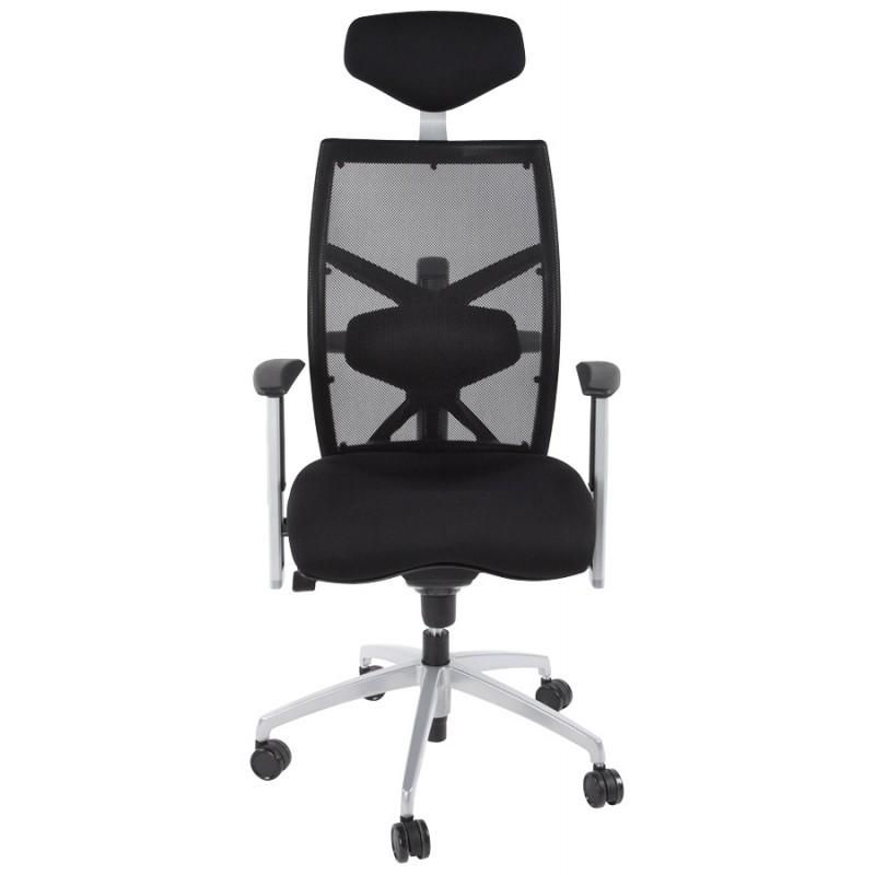 Büro Sessel CORNUE Stoff (schwarz)  - image 18456