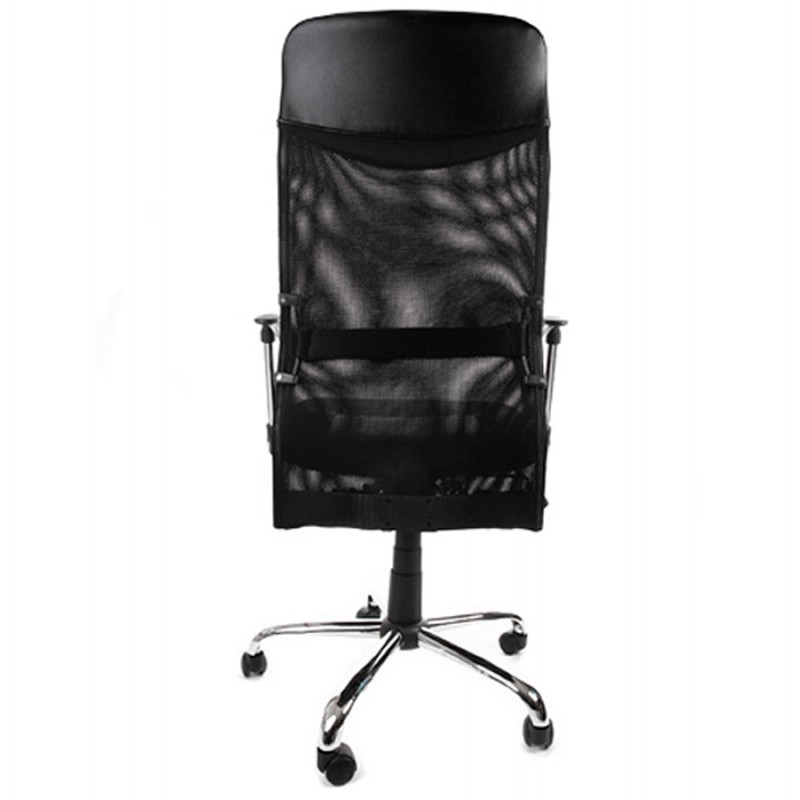 CONDOR armchair office in polyurethane and fabric mesh (black) - image 18492