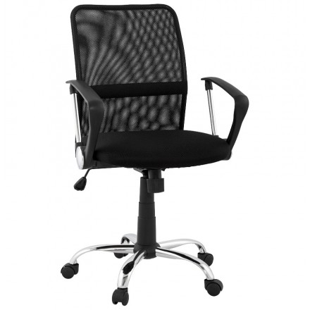 Office Chair CORDON (adjustable) textile (black)