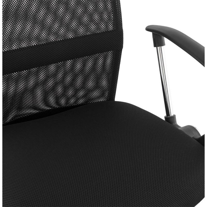 Fauteuil de bureau CORDON (réglable) en textile (noir) - image 18518