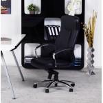 CRABIER Bürostuhl in polyurethan (schwarz)
