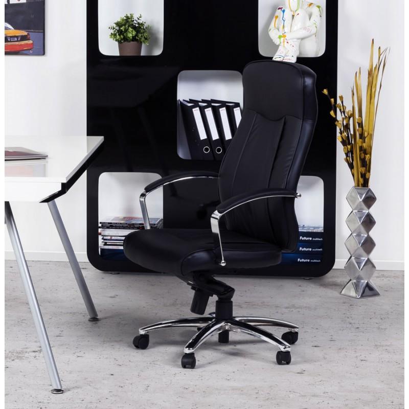 CRABIER Bürostuhl in polyurethan (schwarz) - image 18618
