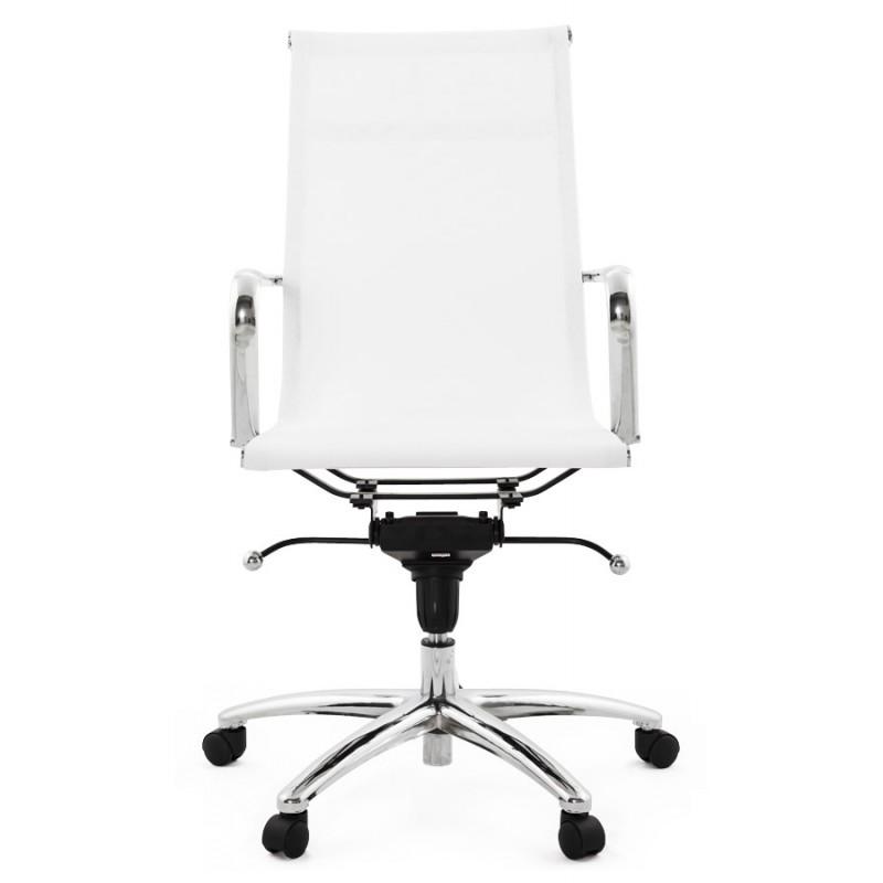 Fauteuil de bureau CRAVE en textile (blanc) - image 18620