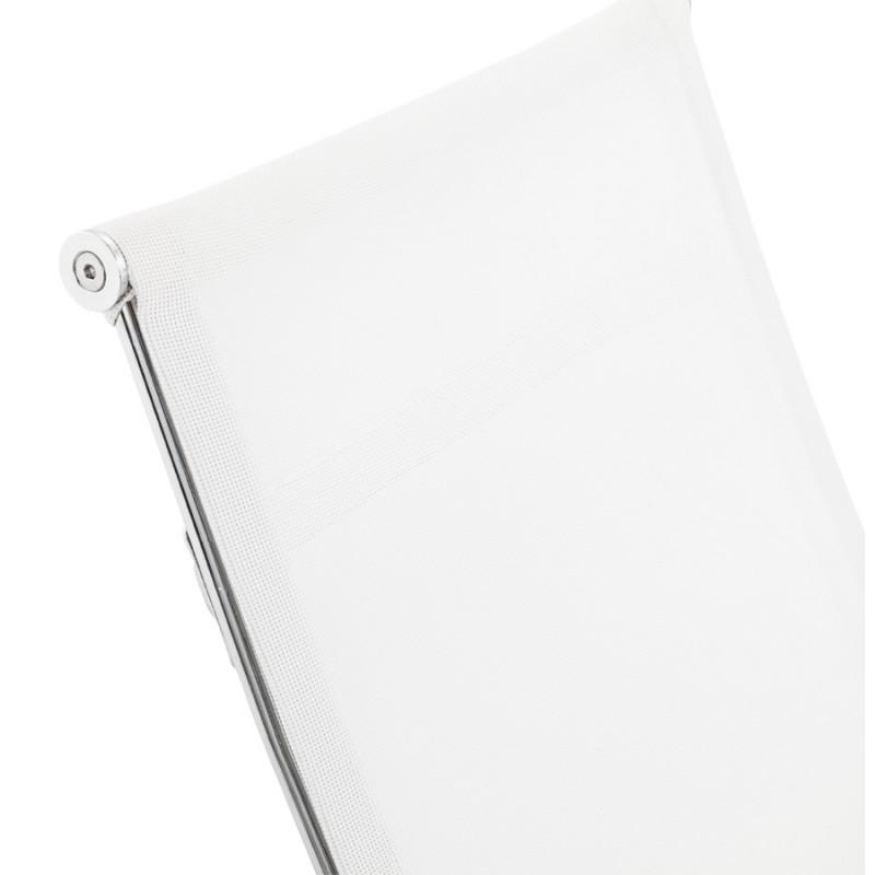Fauteuil de bureau CRAVE en textile (blanc) - image 18625