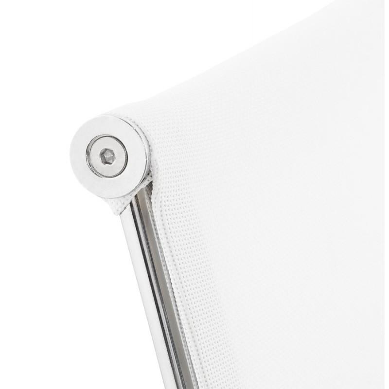 Fauteuil de bureau CRAVE en textile (blanc) - image 18626
