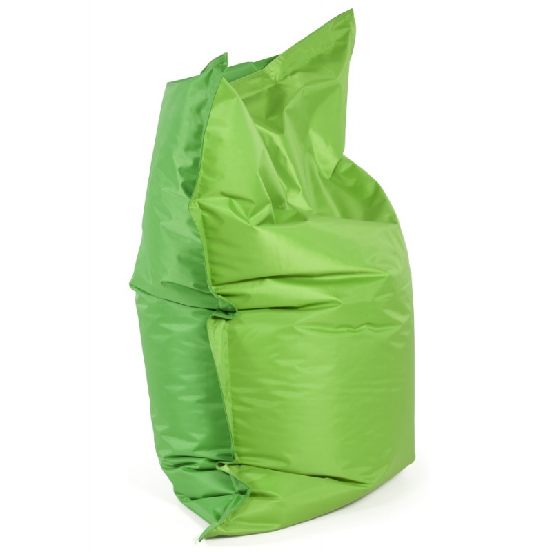 Pouf rectangulaire BUSE en textile (vert) - image 18665
