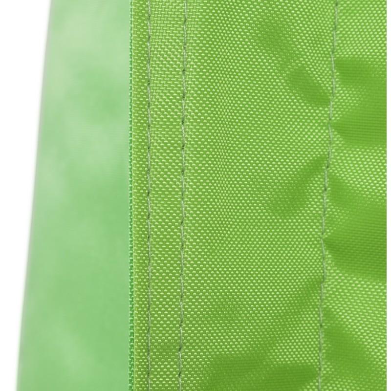 Pouf rectangulaire BUSE en textile (vert) - image 18671