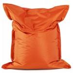 Pouf rettangolare tessile BUSE (arancio)