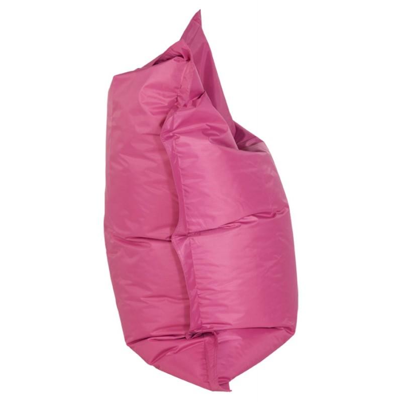 Pouf rectangulaire BUSE en textile (rose) - image 18715