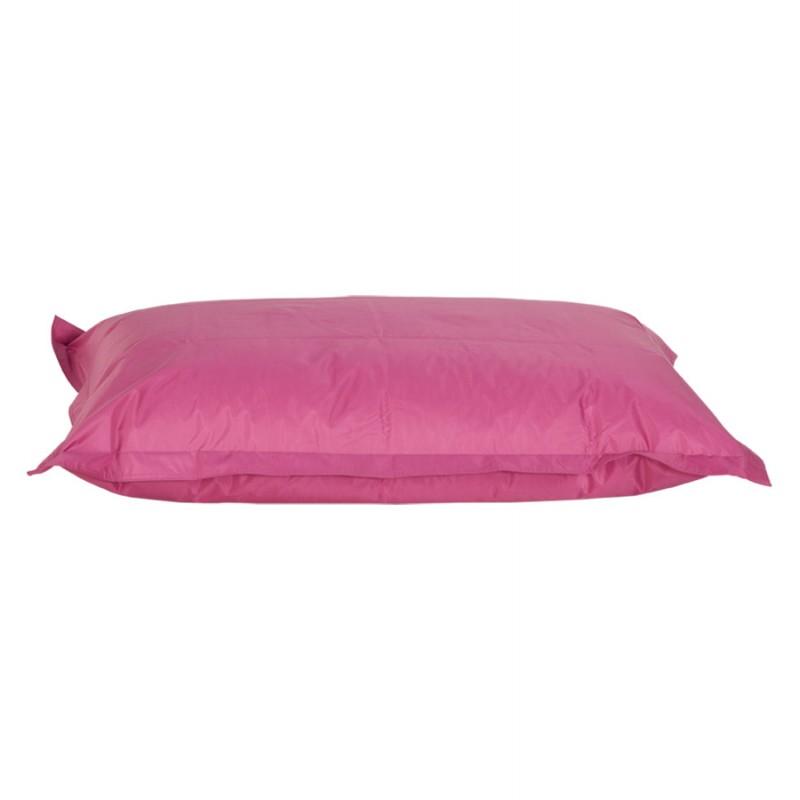 Pouf rectangulaire BUSE en textile (rose) - image 18717