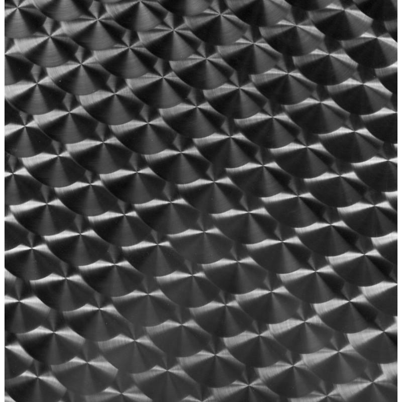 Plateau de table carré ANIS en bois et acier inoxydable (60X60X2cm) - image 19827