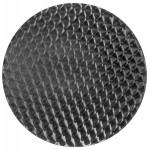 Plateau de table rond ANIS bois et acier inoxydable (70cmX70cmX2cm)