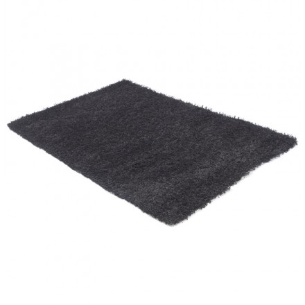 Rectangular contemporary rugs MADAGASCAR small model (120 X 170) (black)