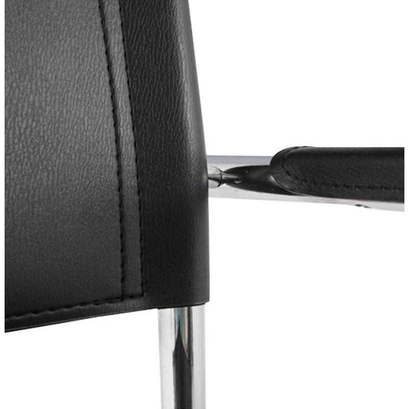Chaise de bureau design TAHITI (noir) - image 19857
