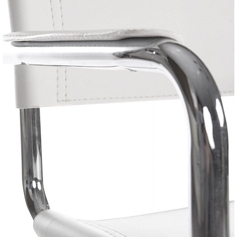 Chaise de bureau design TAHITI (blanc) - image 19867