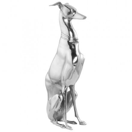Statue aus Aluminium LEVRIER (Aluminium)
