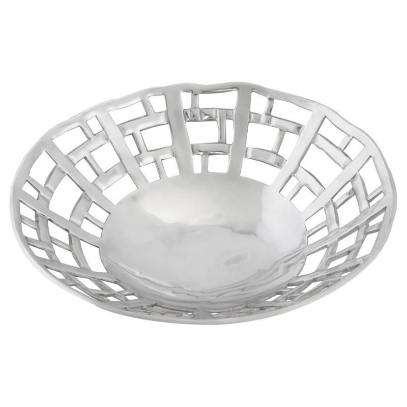 Corbeille à fruits RONDO en aluminium (aluminium) - image 19997