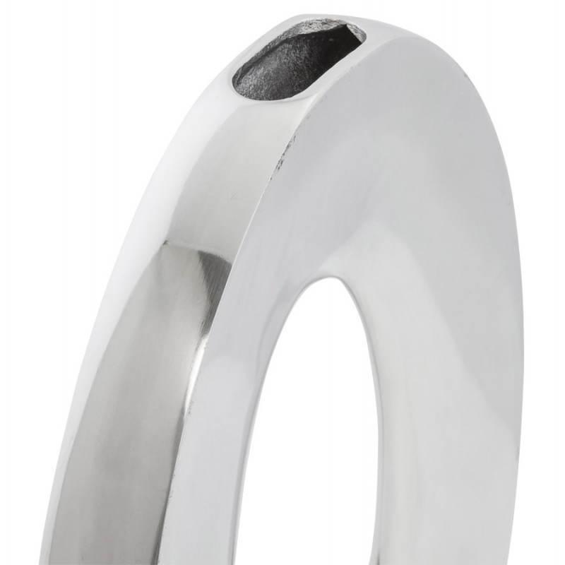 vase contemporain uf en aluminium aluminium. Black Bedroom Furniture Sets. Home Design Ideas