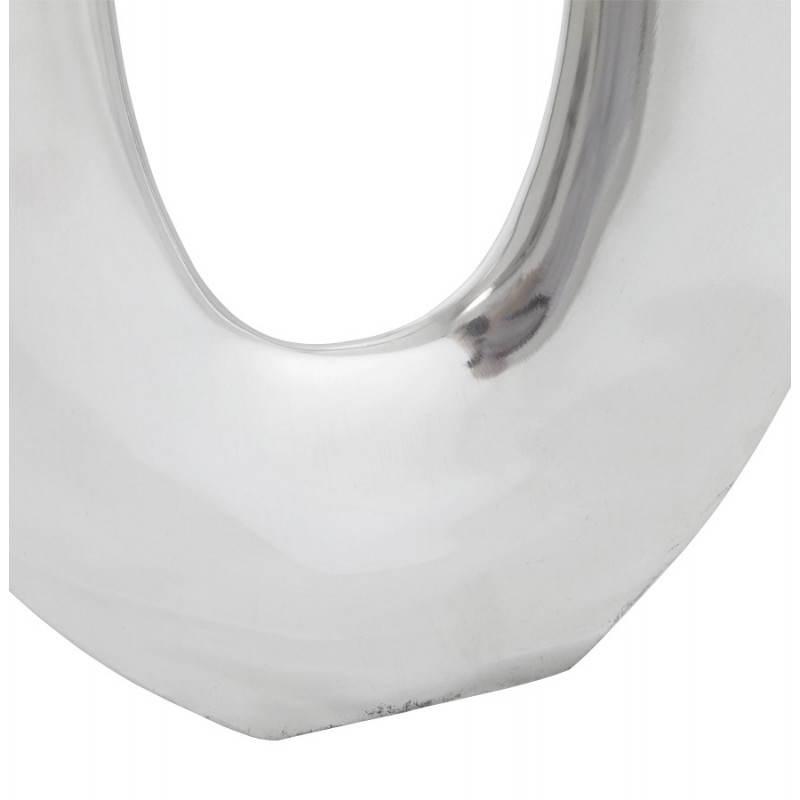 Moderne Vase ŒUF Alu (Aluminium) - image 20016