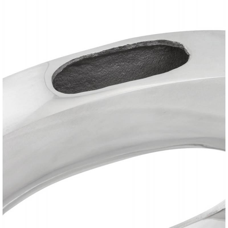 Vase contemporain HUEVO en aluminium (aluminium) - image 20024