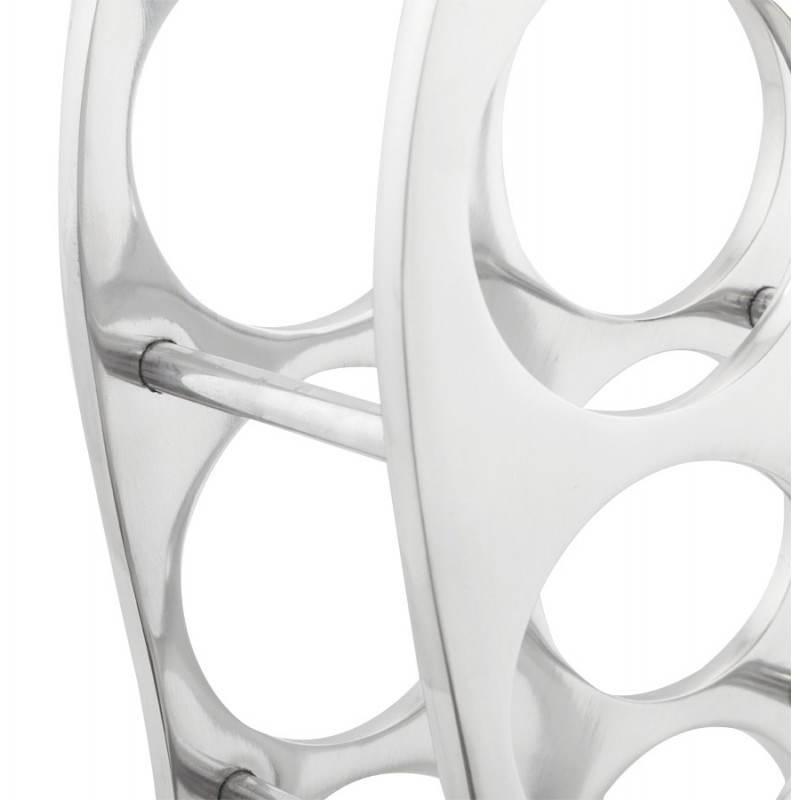 Porta bottiglie HOLES in alluminio (alluminio) - image 20064