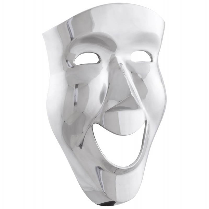 Maschera CARNAVAL di muro in alluminio (alluminio) - image 20066