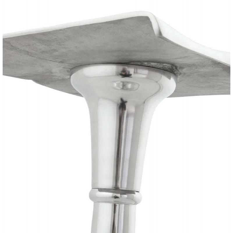 Tabouret de bar RETRO en aluminium (aluminium) - image 20083