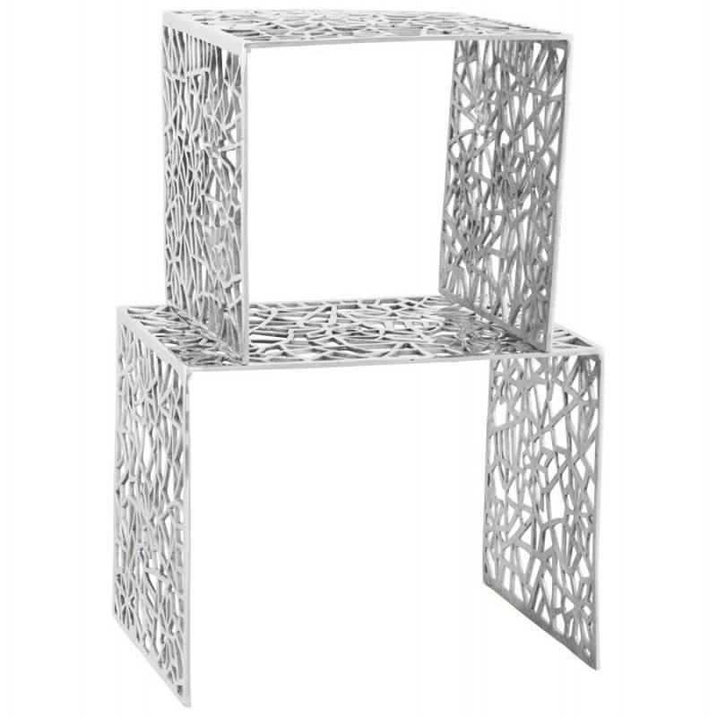 Tables gigogne basses en aluminium - Table basse en aluminium ...