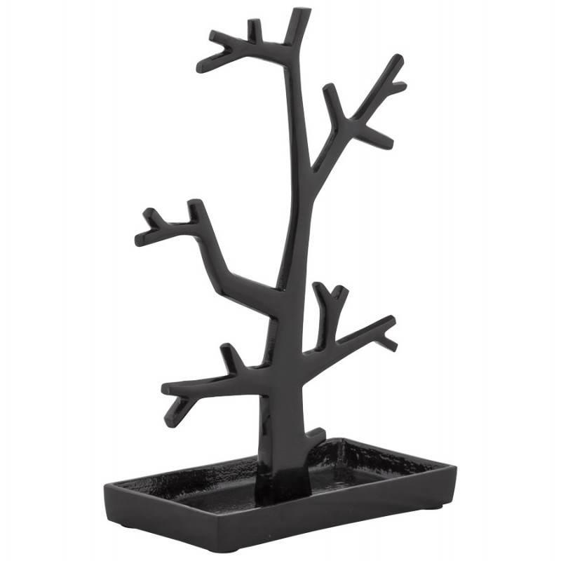 Árbol de joyería metal FOULY (negro)