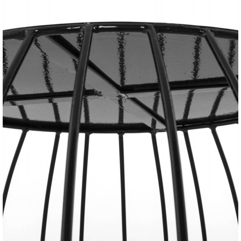 ANITA design coffee table in painted metal (black) - image 20183