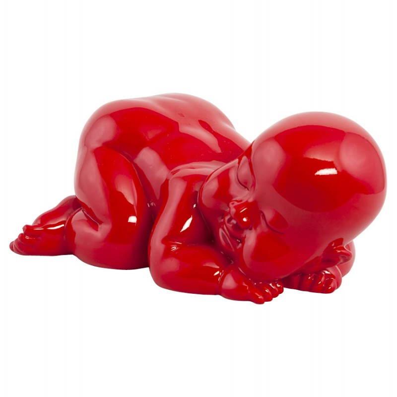 Abbildung Form liegen Baby LAURE Fiberglas (rot) - image 20206