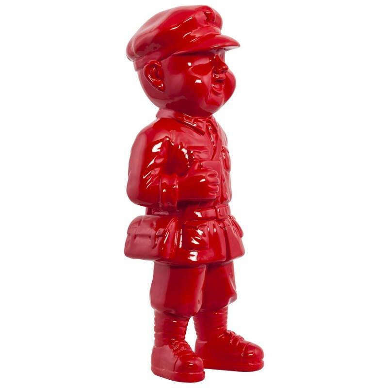 Statue geformt Schneemann Fiberglas SANY (rot)  - image 20214