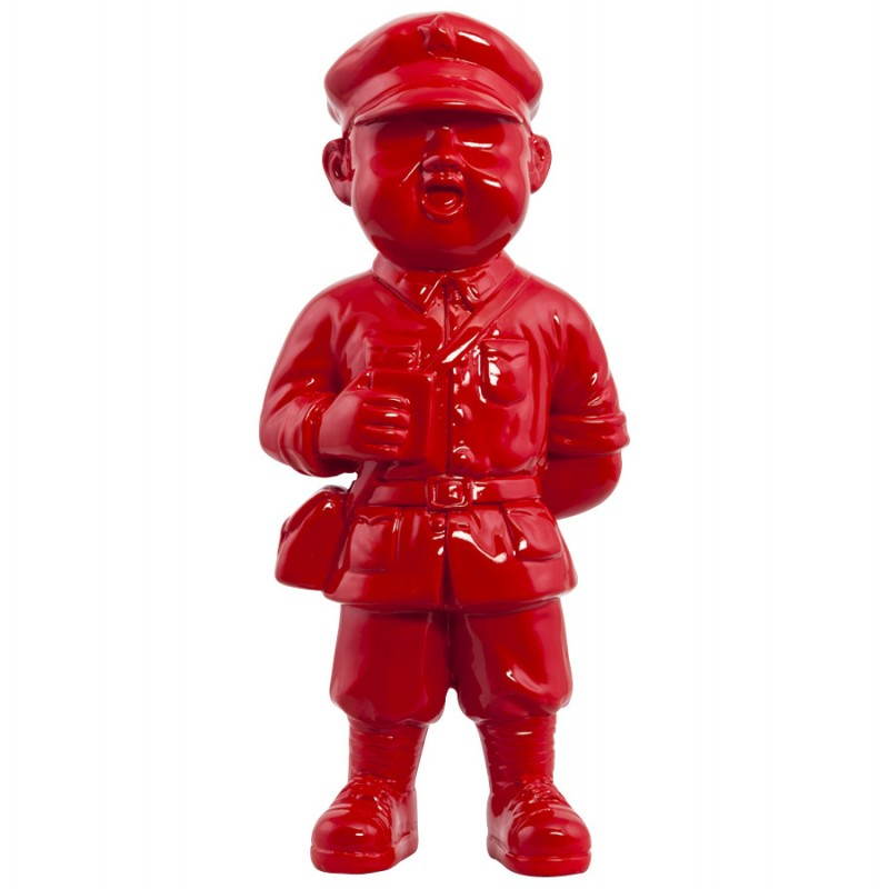 Statue geformt Schneemann Fiberglas SANY (rot)  - image 20215