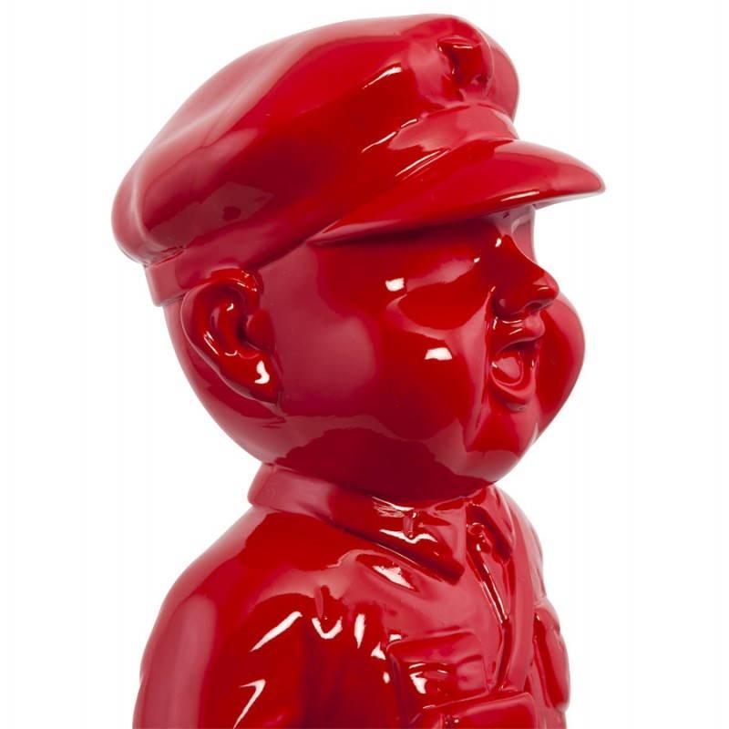 Statue geformt Schneemann Fiberglas SANY (rot)  - image 20222