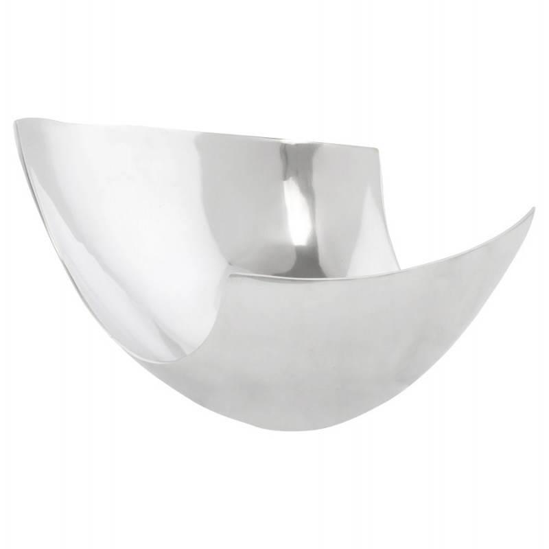 Cestino multifunzione BOUEE in alluminio lucidato (alluminio)