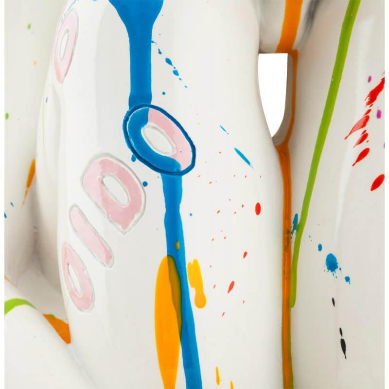 Statue homme MAXOU en fibre de verre (multicolore) - image 20288