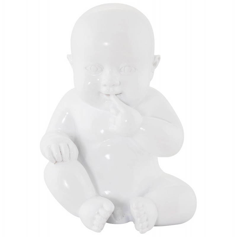Statuette Form Baby KISSOUS GFK (weiß) - image 20299