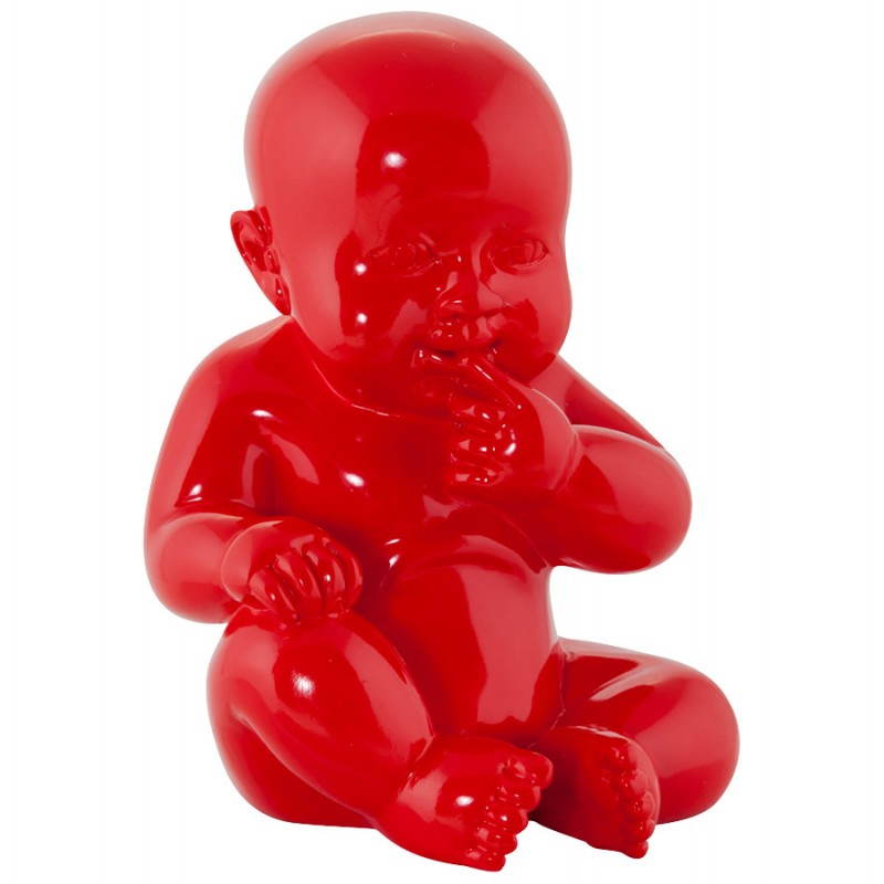 Statuette form baby KISSOUS fibreglass (red) - image 20304