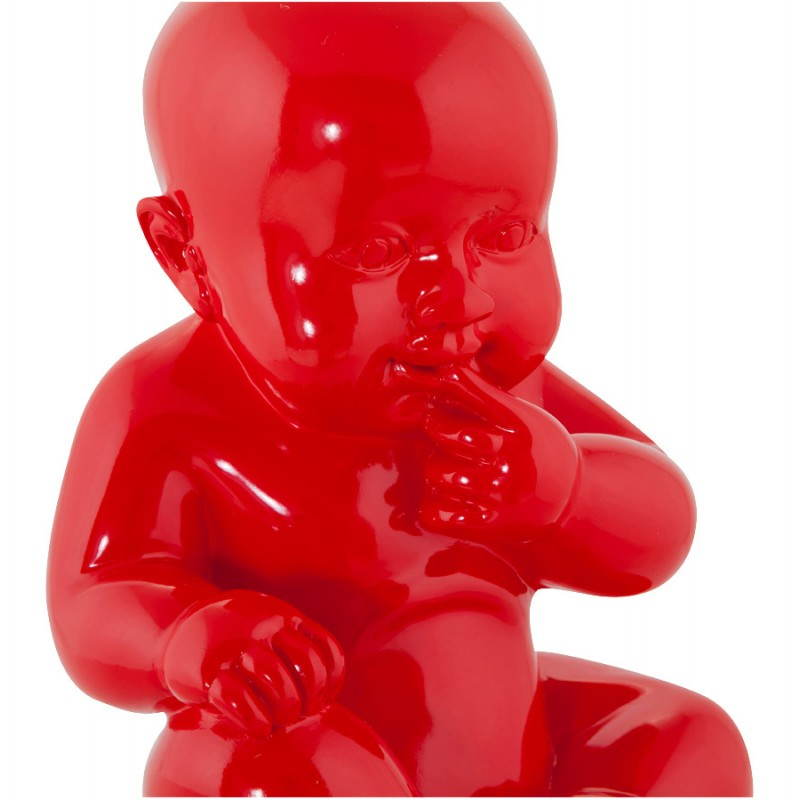 Statuette form baby KISSOUS fibreglass (red) - image 20309