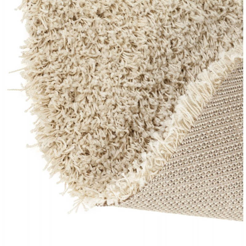 Contemporary rugs and design MIKE round small model (Ø 160 cm) (cream) - image 20345