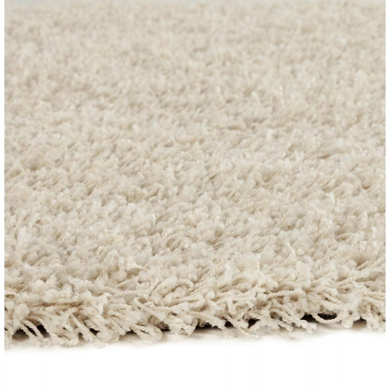Contemporary rugs and design MIKE round large model (Ø 200 cm) (cream) - image 20350