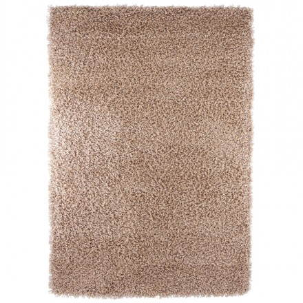 Tapis contemporain et design MIKE rectangulaire (290 X 200) (marron)