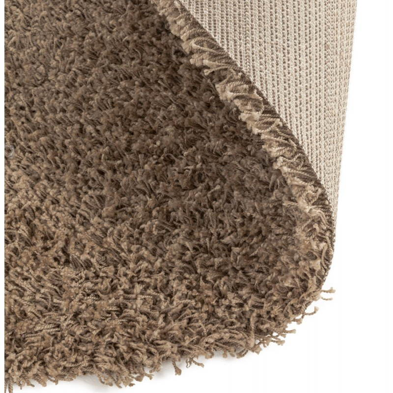 Contemporary rugs and design model small round MIKE (Ø 160 cm) (Brown) - image 20364