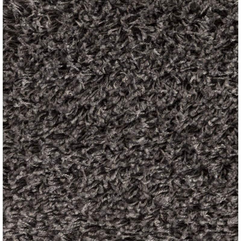 Tappeti contemporanei e design MIKE rotondo modello piccolo (Ø 160 cm) (grigio) - image 20380